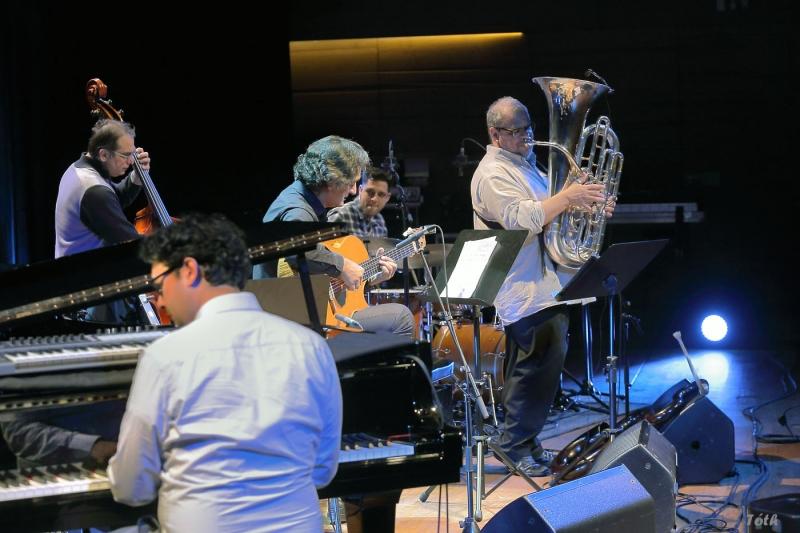 Pécs I Kodály Központ I Quartet & Michel Godard I 2014 - © Lászlo Tóth