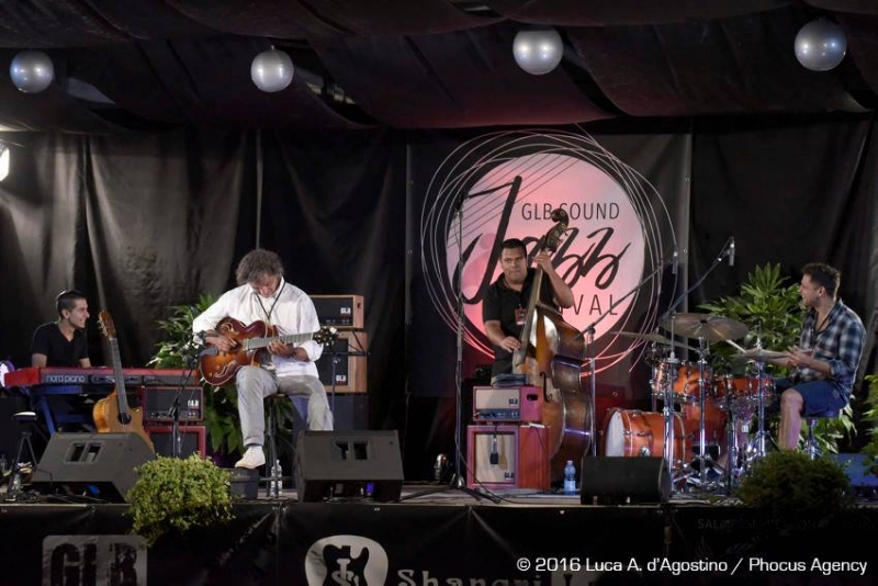 GLB JAZZFESTIVAL ITALY | September 2016 - encore with Zsolt Farkas, Adrian Szajko and Toni Snétnerger
