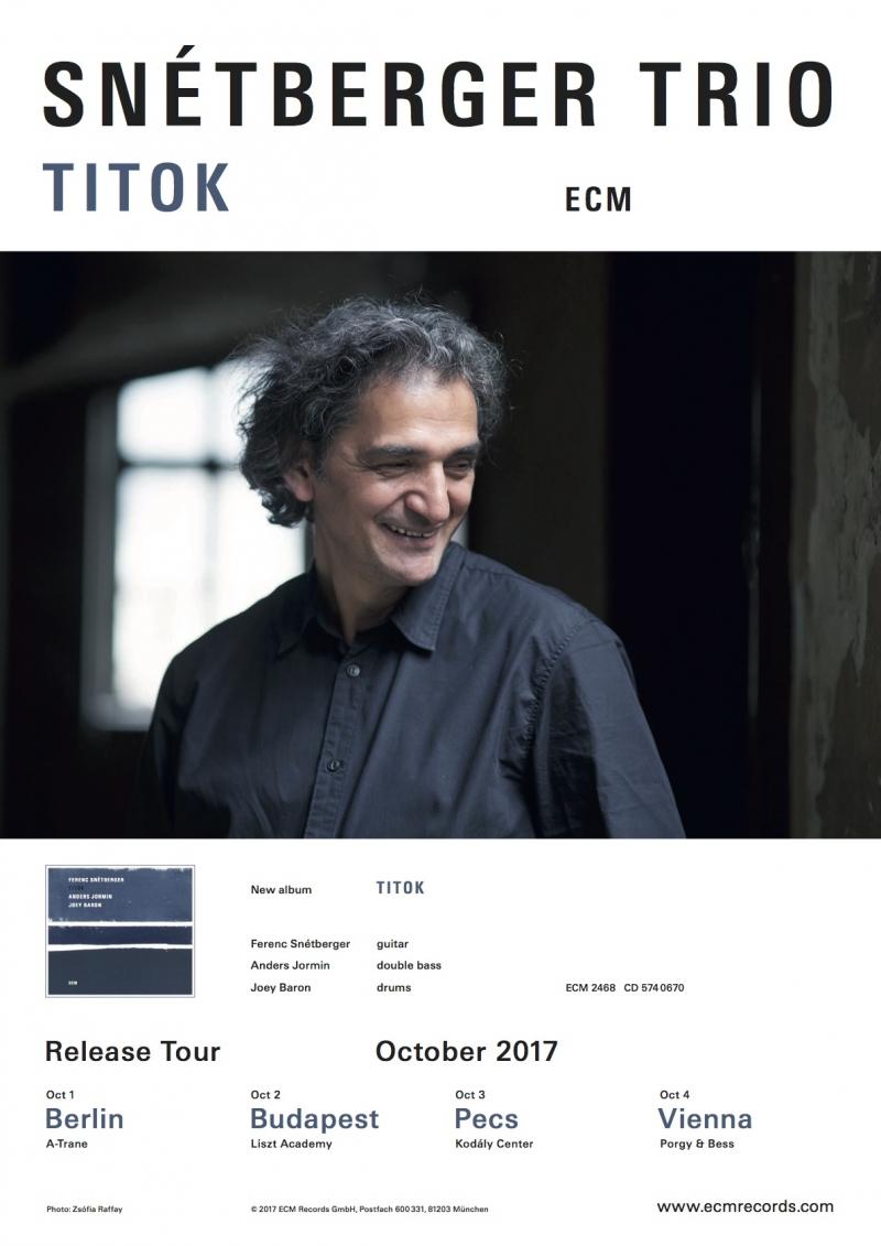 TITOK ALBUM RELEASE TOUR OCT. 17