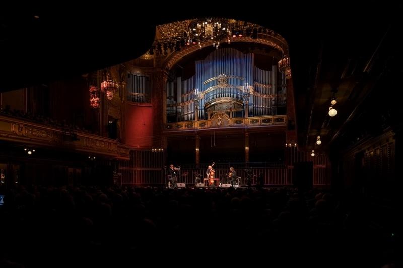 Budapest | Liszt Academy | Oct. 19 with Arild Andersen & Markus Stockhausen - Snétberger|Stockhausen|Andersen © Liszt Academy|János Postós