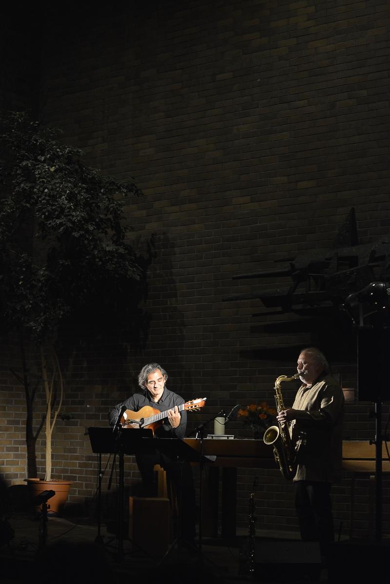 FERENC SNÉTBERGER- TONY LAKATOS  | FRANKFURT AM MAIN | GETHSEMANEKIRCHE | NOVEMBER 17 - © Natalie Färber - Fotografie