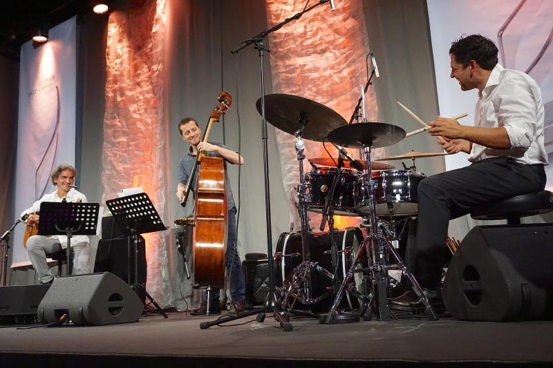JTI TRIER JAZZ AWARD 2018 - JTI Trier Jazz Award © Ralf Dombrowski Snétberger Trio, feat. Phil Donkin, Toni Snétberger