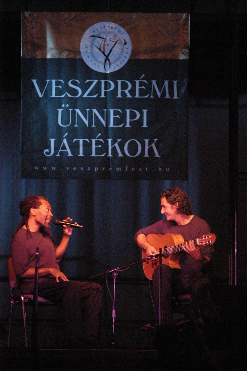 MIT BOBBYMCFERRIN |VESZPREMFEST 2005 - ©VeszpremFest
