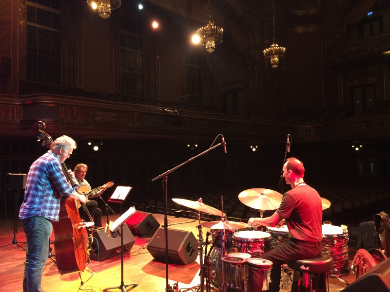 TITOK ALBUM RELEASE TOUR OCT. 17 - soundcheck_Budapest Liszt Academy with Anders Jormin & Ferenc Németh