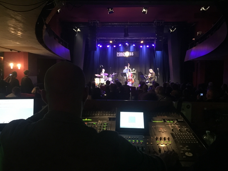 TITOK ALBUM RELEASE TOUR OCT. 17 - soundcheck Wien with Phil Donkin & Ferenc Németh