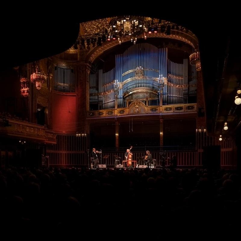 Budapest | Liszt Academy | Oct. 19 with Arild Andersen & Markus Stockhausen