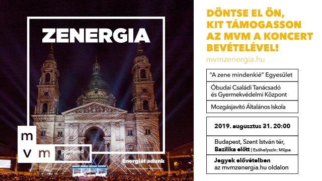 Benefizkonzert vor der St. Stefans Basilika in Budapest