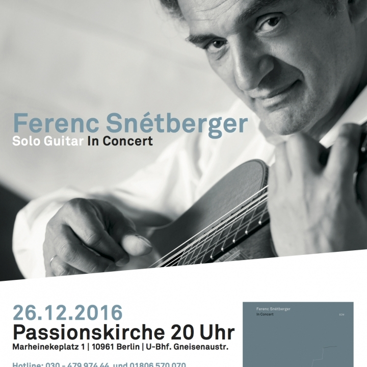 """IN CONCERT"" CD RELEASE  IN BERLIN"